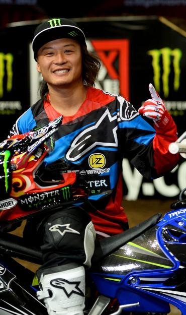 Taka Higashino at 2015 SX Australian Round 5 in Sydney