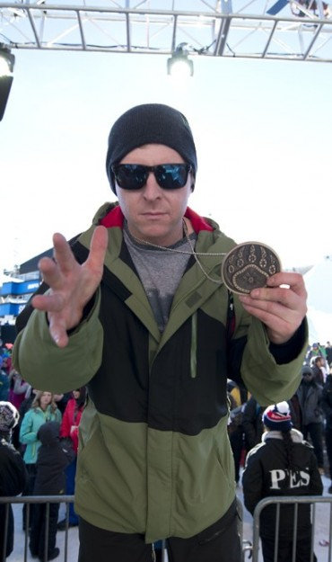 Nate Holland takes bronze at the 2015 Winter X-Games.