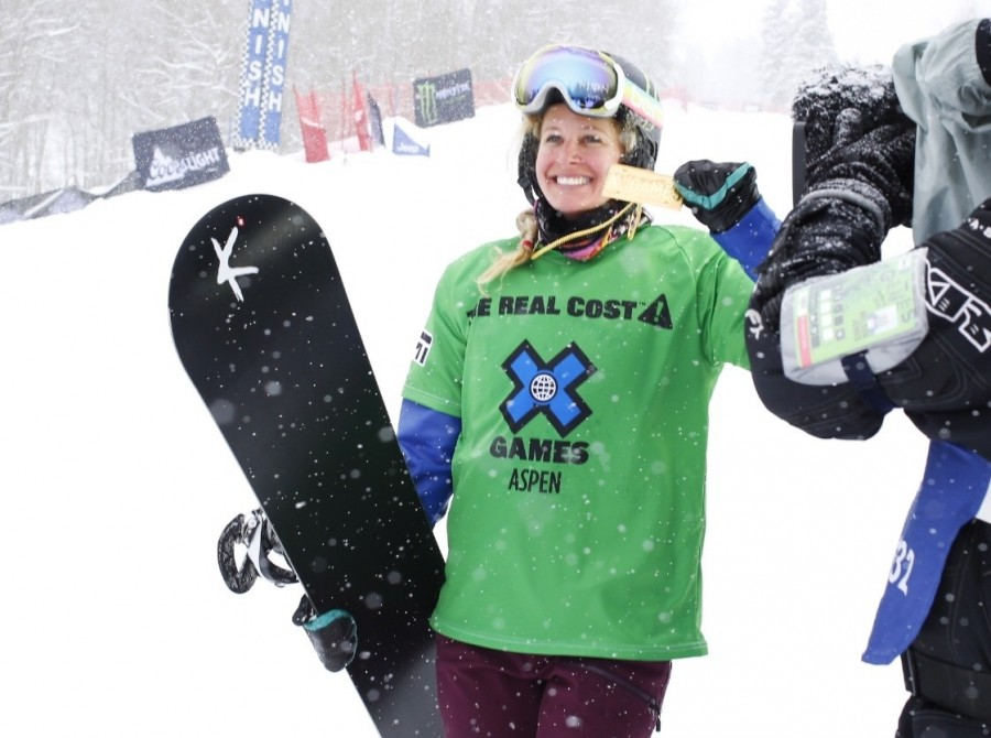 Lindsey Jacobellis takes gold at Winter X Games