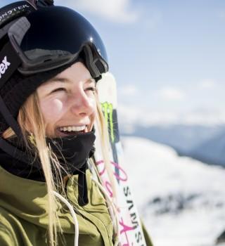 Giulia Tanno at the 2016 Nine Queens in Serfaus-Fiss-Ladis, Austria