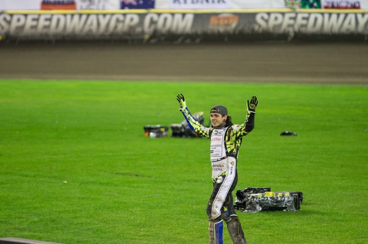 Images of new speedway world champion Tai Woffinden