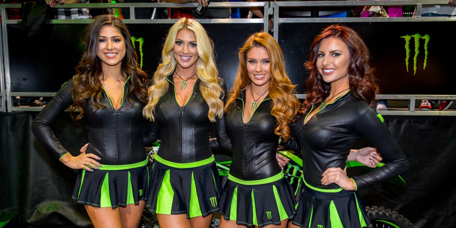 monster girls at supercross atlanta. Black Bedroom Furniture Sets. Home Design Ideas