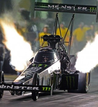 Brittany force competes in the 2015 NHRA season.