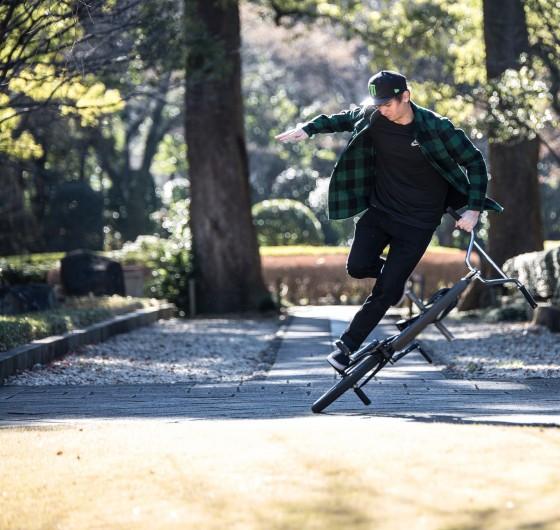 Adam Kun at Tokyo Flatland Filming