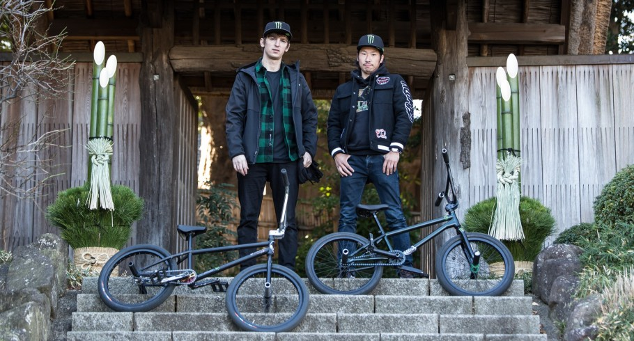 Adam Kun and Moto Sasaki at Tokyo Flatland Filming