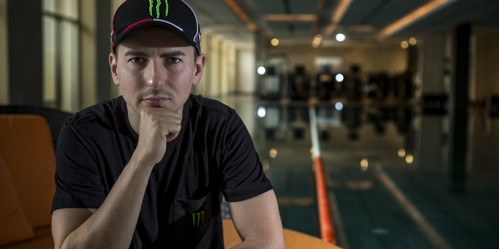 Jorge Lorenzo lifestyle shoot, Lifestyle shooting with Monster Energy