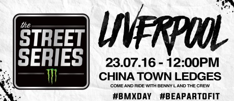 Street Series flyers for BMX day