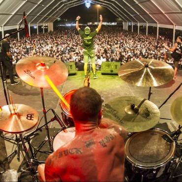 Terror at the 2015 Resurrection Festival in Viveiro, Galicia
