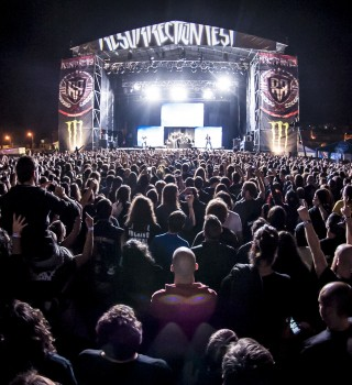 Monster Energy at the 2015 Resurrection Festival in Viveiro, Galicia