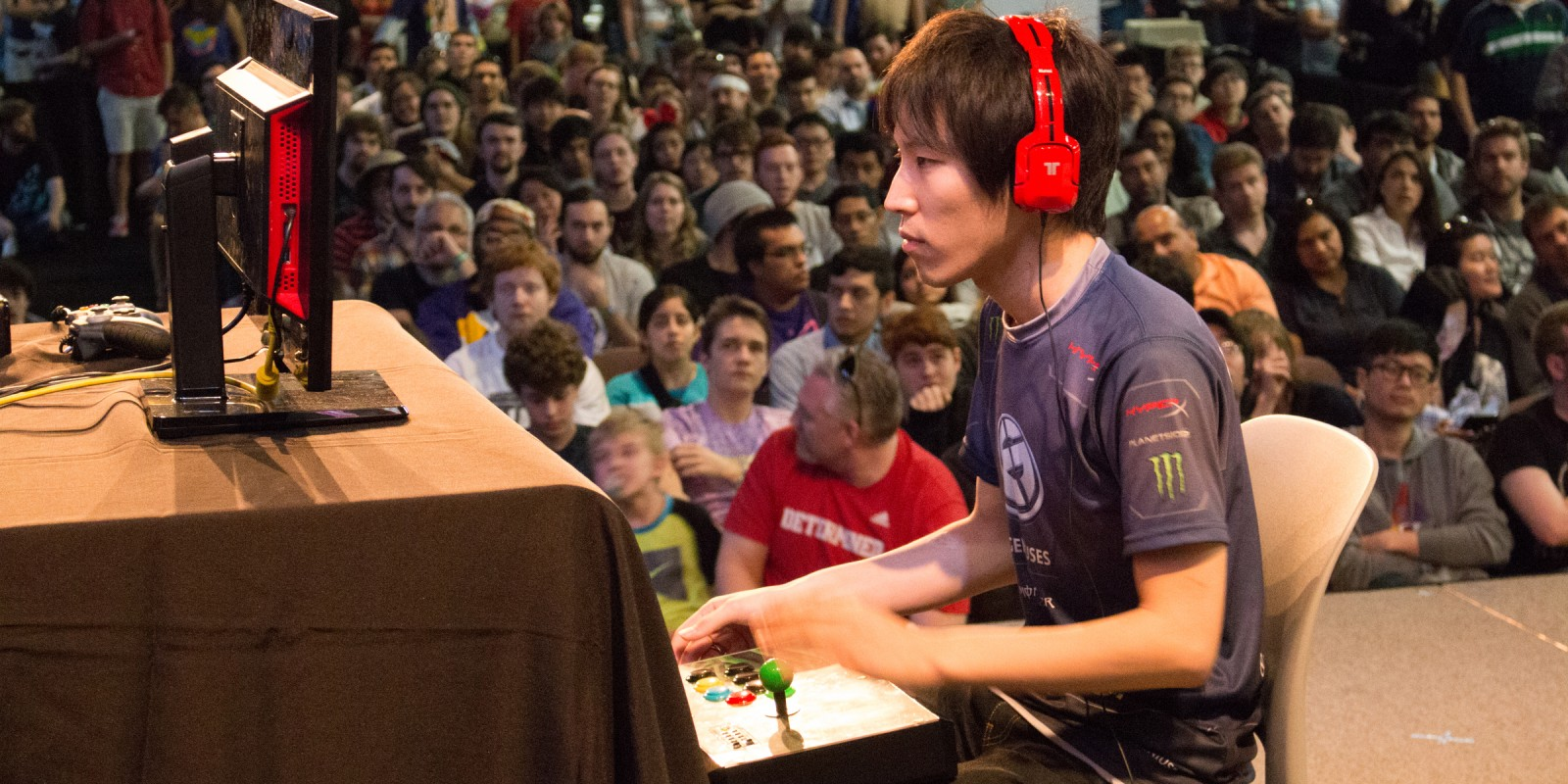 Evil Geniuses at the 2015 SXSW Gaming Fighters Invitational