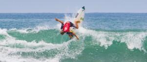 jhony Corzo national champion Jr at VANS Surf Open Acapulco