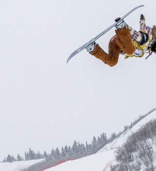 Chloe Kim at US Grand Prix at Park City 2016