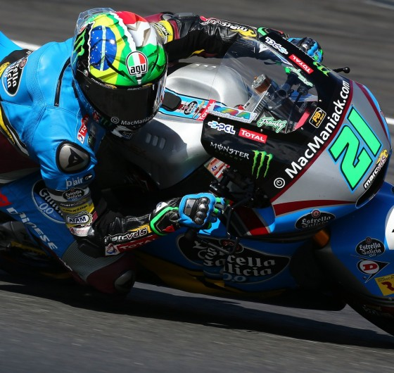 Franco Morbidelli during the 2016 MotoGP season in Spielberg, Austria