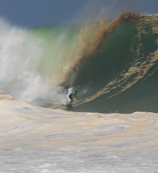 Angelo Lozano Surfing Puerto Escondido Challenge- Big Wave