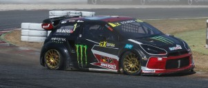 Petter Solberg at the 2016 World Rallycross season in Barcelona, Spain