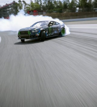 Images from Vaughn Gittin Jr's 2016 film project titled 'Forever Drift'