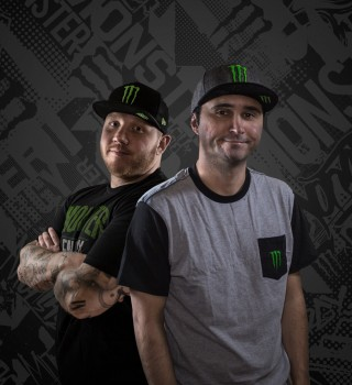 Photoshoot assets for TIm the Tat Man and Summit1G for new sponsorship announcment. Hero shots