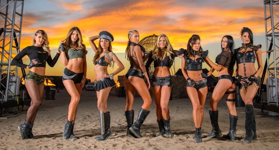 Monster Girls during Dirt Shark's Doonies III in Glamis, CA