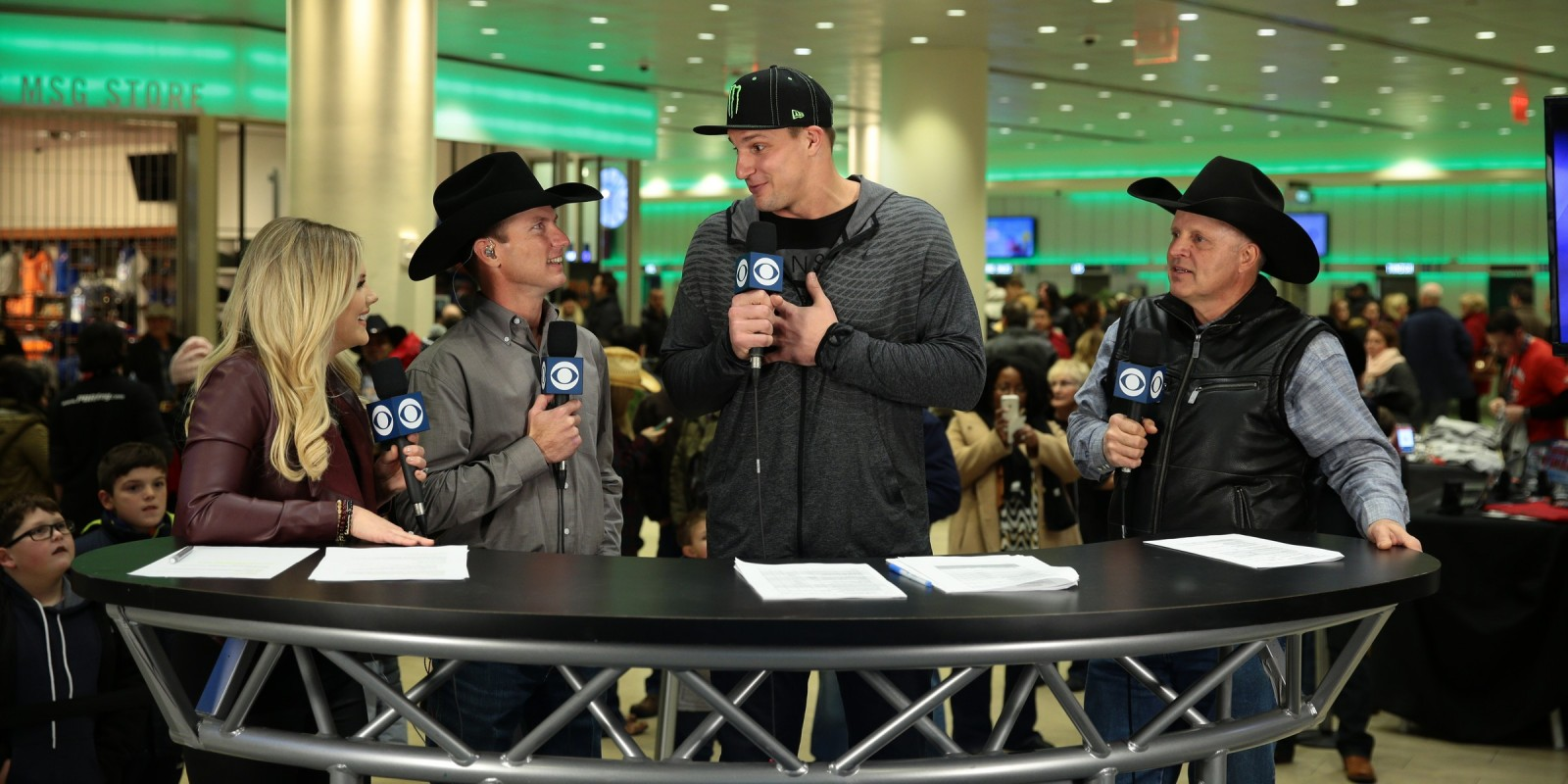 Gronk Attended Last Weekend S Monster Energy Buck Off Of At Madison Square Garden Monster Energy