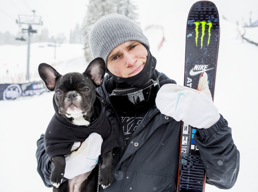 Gus Kenworthy in Aspen, CO at Winter X Games