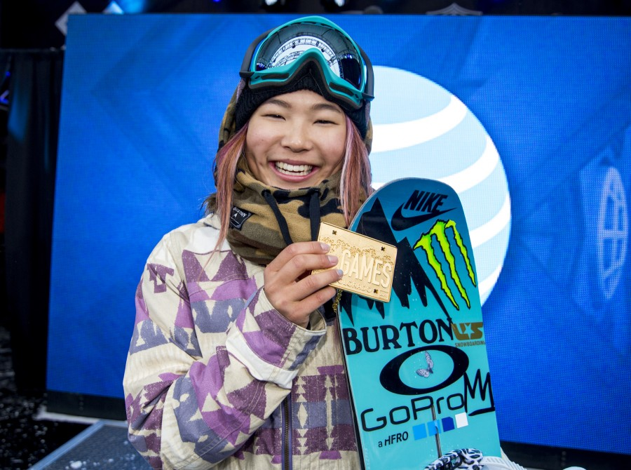 Chloe Kim takes gold at Winter X Games SuperPipe