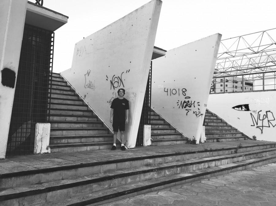 Alex Donnachie video part BTS - Ascent
