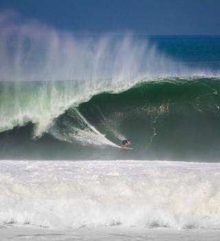 Angelo Lozano at Last Swell in Puerto Escondido, Mexico
