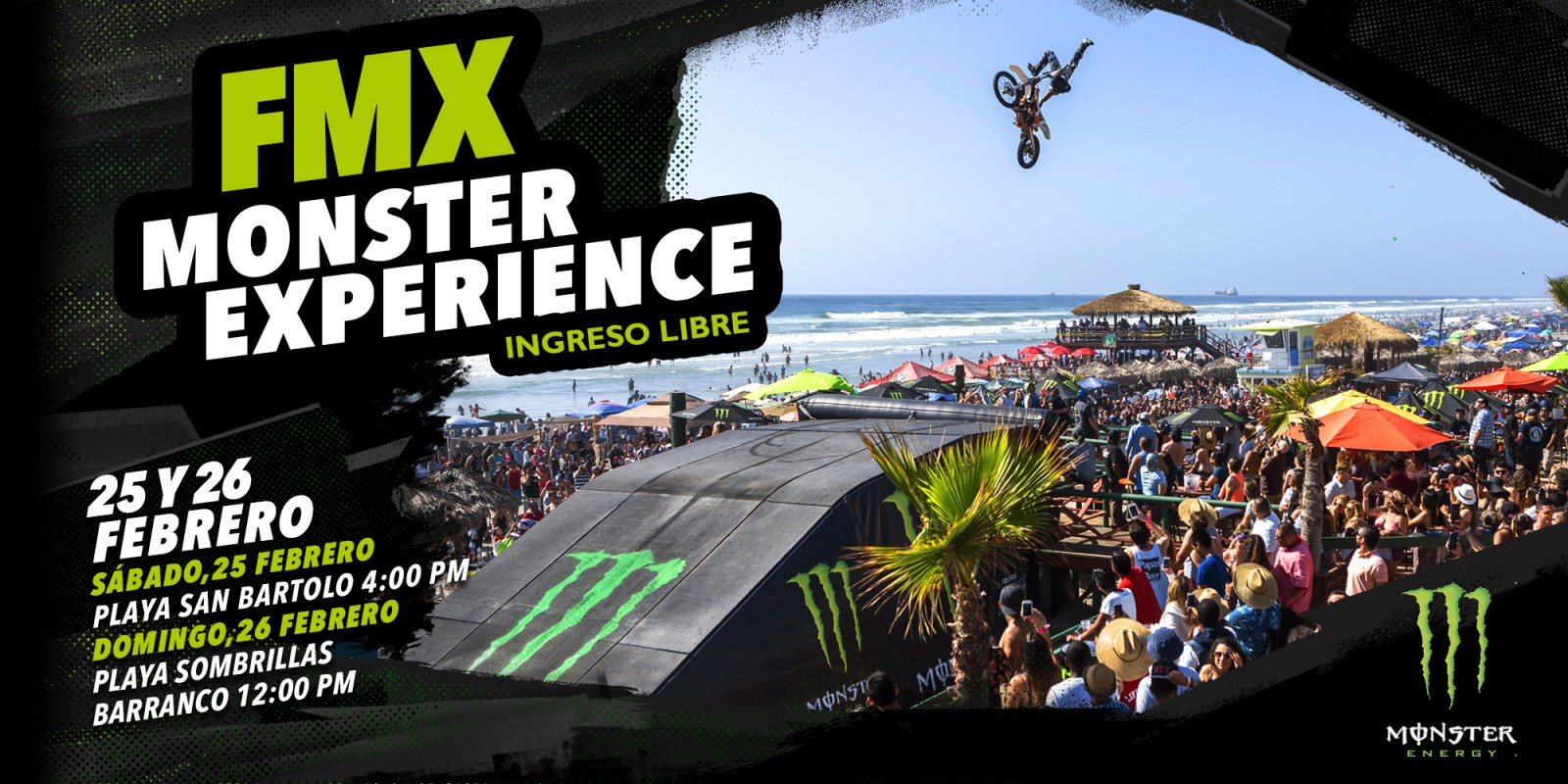 FMX- Monster Experience Graphic Event