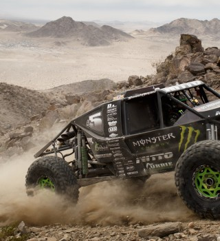 Shannon Campbell during the 2017 King of Hammers in Johnson Valley, CA