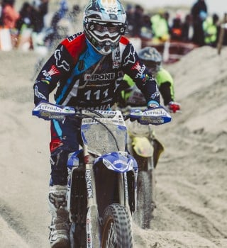 Adrien Van Beveren at the 2017 Enduropale
