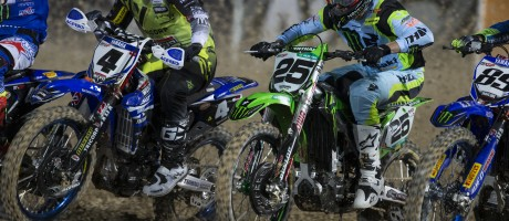 Clement Desalle at the 2017 Grand Prix of Qatar