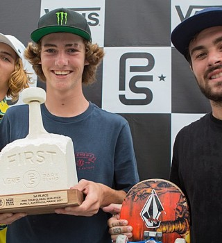 Tom Schaar Won the first stop of the Vans Park Series in Sydney, Australia