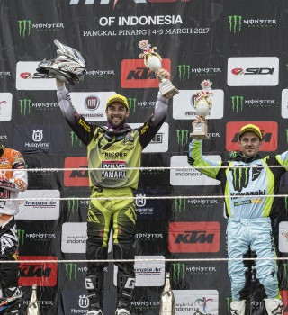 Clement Desalle at the 2017 Grand Prix of Indonesia