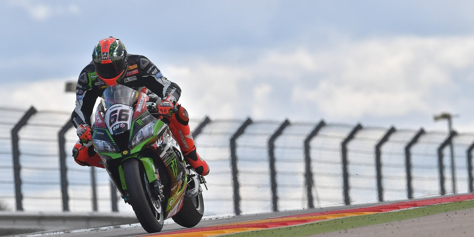 Tom Sykes at the 2017 World Superbike Pirelli Aragon Round