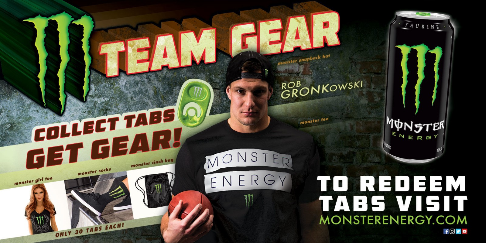 2017 Web Hero Image for Gear Promo With Rob Gronkowski