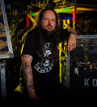 2016 hero shoot with Jonathan Davis Korn