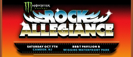 Monster Energy Rock Allegiance festival header art