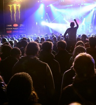 Monster Energy at the 2015 Groezrock Music Festival in Meerhout, Belgium
