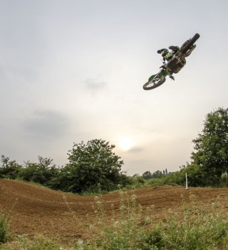 Luca Nijenhuis portrayed and shot in action during MX Airtime, to be used in an interview article.