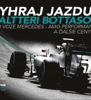Ridealong, Valtteri Bottas, F1, Slovakia, SK, promotion