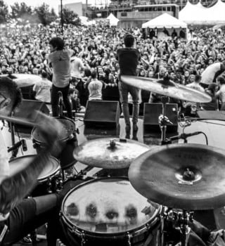 Crown the Empire at the Rock on the Range in Columbus, Ohio.