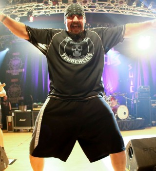 Suicidal tendencies performing live in Milan on the Persistence Tour