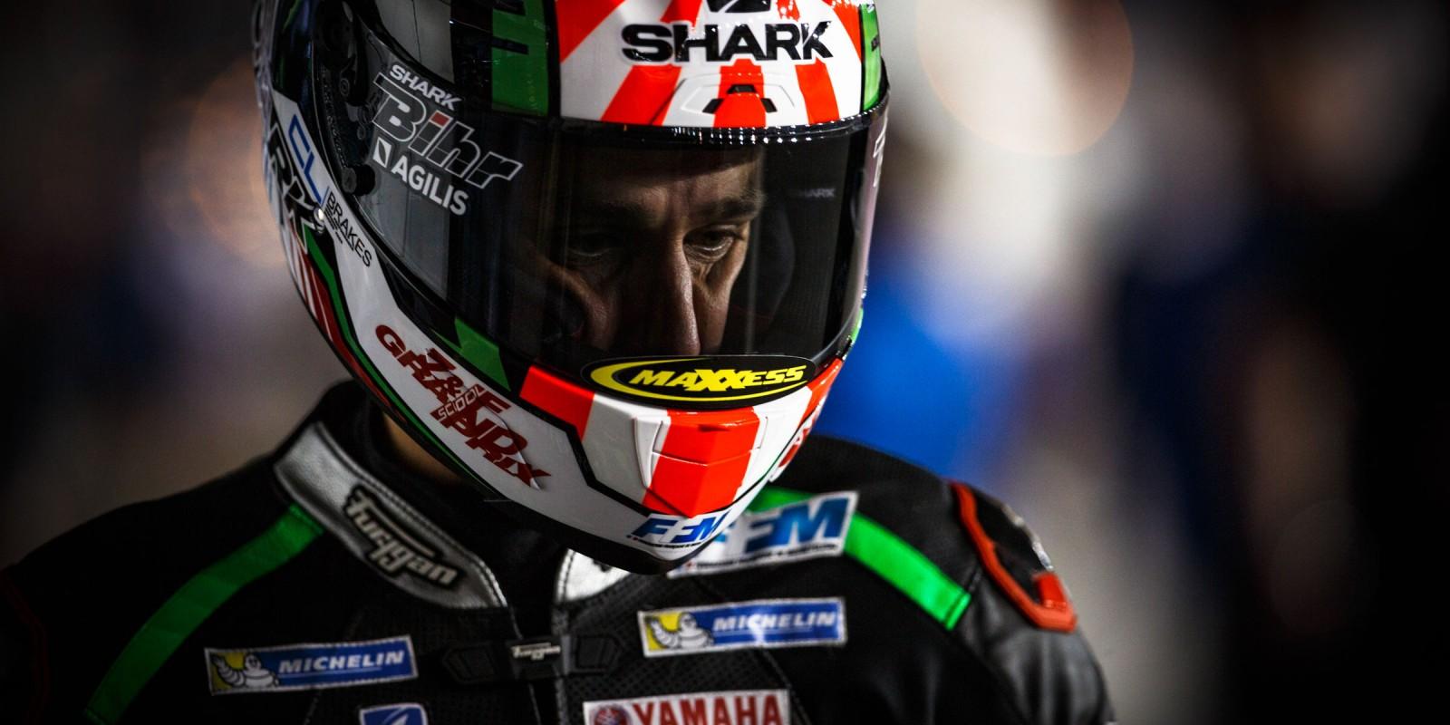 Johann Zarco at the 2017 Grand Prix of Qatar