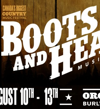 Web Promotion Hero for Boots & Hearts contest