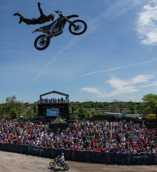 Lifestyle, action and ambient photos from the Monster Compound at the Canadian Grand Prix F1 race in Canada.