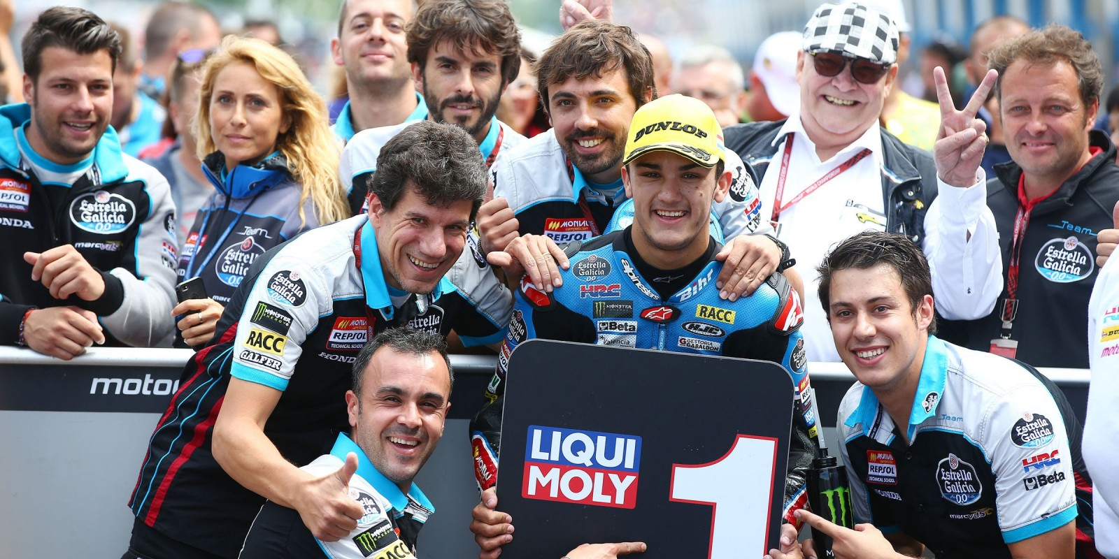Monster athletes compete in the 2017 MotoGP stop in Assen