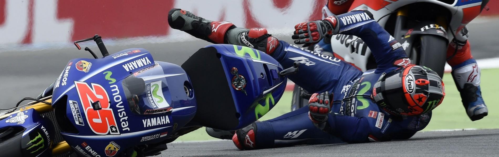 Maverick Viñales at the 2017 Grand Prix of Netherlands