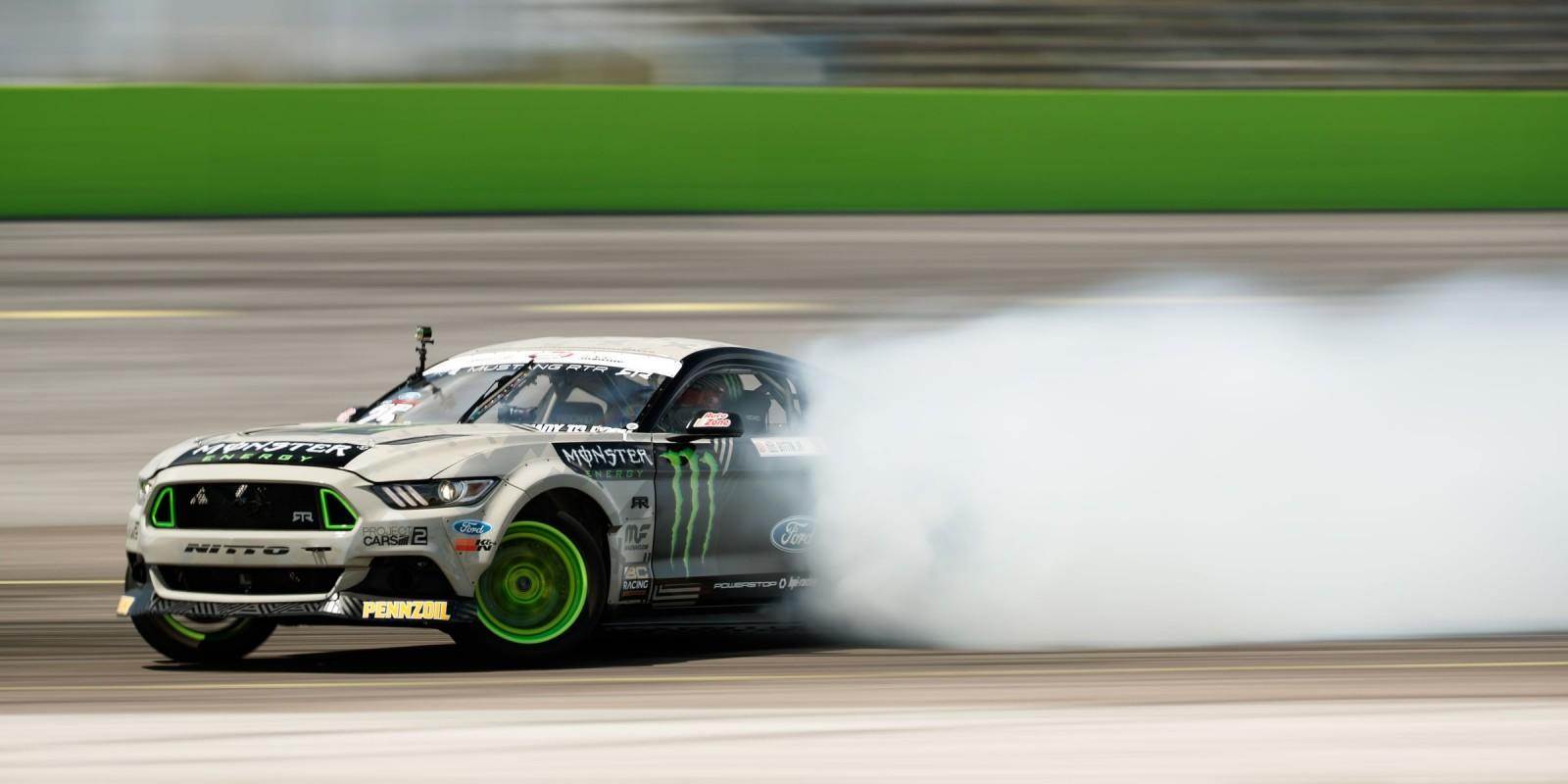 Action shots at Formula Drift Orlando