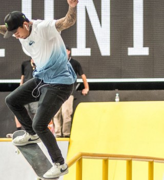 Nyjah Huston at SLS Munich.