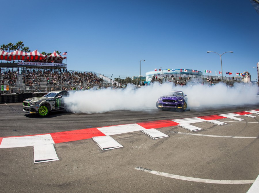 First stop of the Formula Drift series in Long Beach